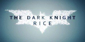 Batman the Dark Knight Rice
